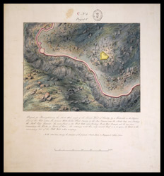 Project for strengthening the N.W. angle of the lower fort of Gooty by a redoubt